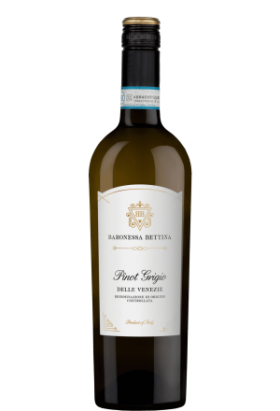 Pinot Grigio Baronessa Bettina 2019 Friuli DOP(75cl)